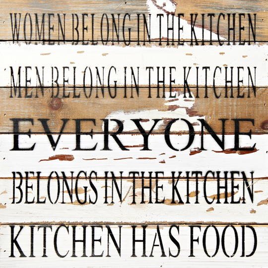"1212KITCHEN-SW - 12x12"" Reclaimed Wood Wall Art 