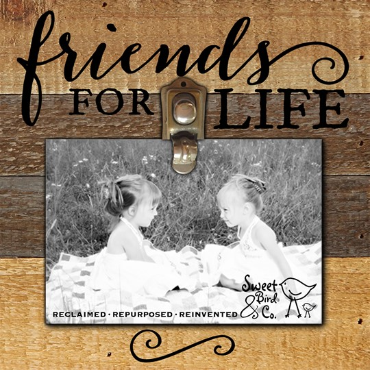 "FRCP0808VN10 - 8x8"" Clips of Life Reclaimed Wood Frame 