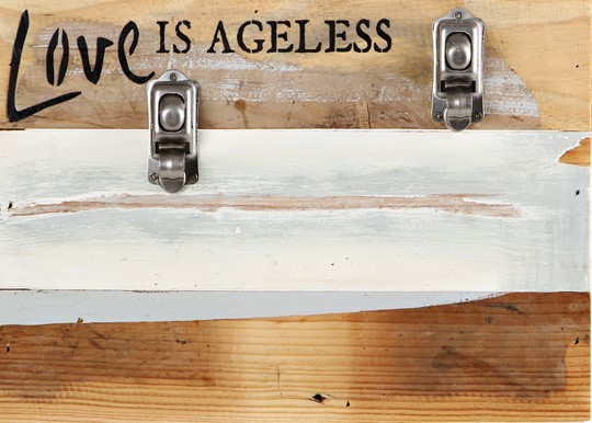 "FRCP1208BW06 - 12x8"" Clips of Life Reclaimed Wood Frame 