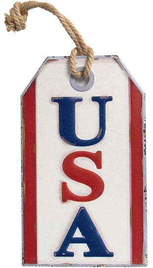 USA METAL SIGN 2