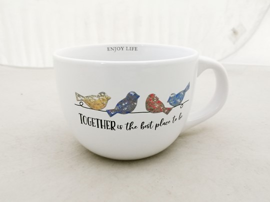TOGETHER IS THE BEST PLACE 24 OZ MUG