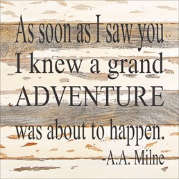 Grand Adventure 12x12 Reclaimed Wood Wall Art