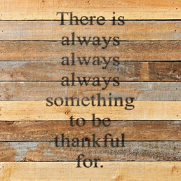 Always, Always 12x12 Reclaimed Wood Wall Art