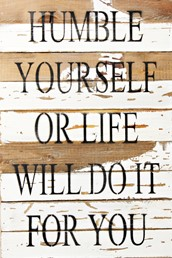 Life Will Do It 12x18 Reclaimed Wood Wall Art