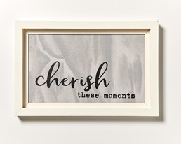 Cherish These Moment 18x12 Reclaimed Wood Wall Art