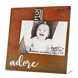 Adore 8x8  Bent Metal Salt Bath Clip Frame