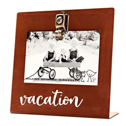 Vacation 8x8 Bent Metal Salt Bath Clip Frame