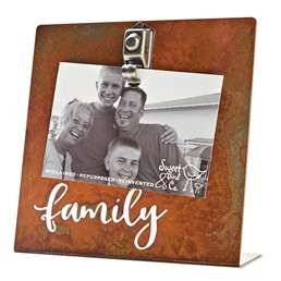 Family 8x8 Bent Metal Salt Bath Clip Frame