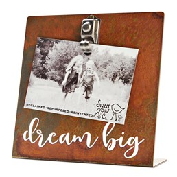 Dream Big 8x8 Bent Metal Salt Bath Clip Frame