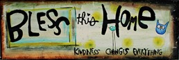 Kindness Changes All 18x6 Reclaimed Metal Wall Art