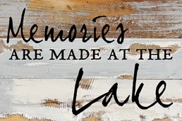 Memories Are Made 12x8 Reclaimed Wood Wall Art