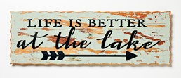 Life Is Better... 24x8 Reclaimed Wood Wall Art