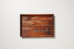 Blessed 18x12 Reclaimed Wood Wall Art