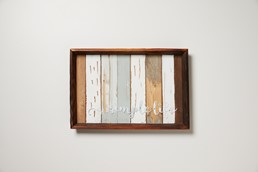 Simple 18x12 Reclaimed Wood Wall Art
