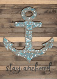 18X24 STAY ANCHORED RECLAIMED WOOD SIGN