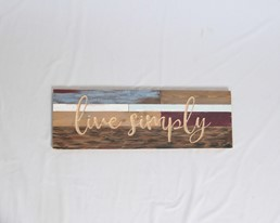 24X8 LIVE SIMPLY RECLAIMED WOOD WITH CARVED DETAIL