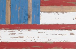 18x12 FLAG RECLAIMED WOOD SIGN