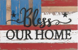 18x12 BLESS OUR HOME RECLAIMED WOOD SIGN