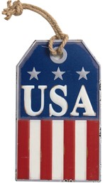 USA METAL SIGN