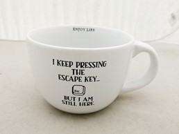 ESCAPE KEY 24 OZ MUG