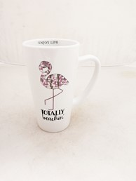 TOTALLY BEACHIN 16 OZ LATTE MUG