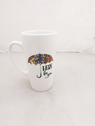 HERE FOR YOU 16 OZ LATTE MUG