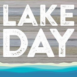 Lake Day 12x12 Indoor/Outdoor Recycled Polystyrene Wall Art